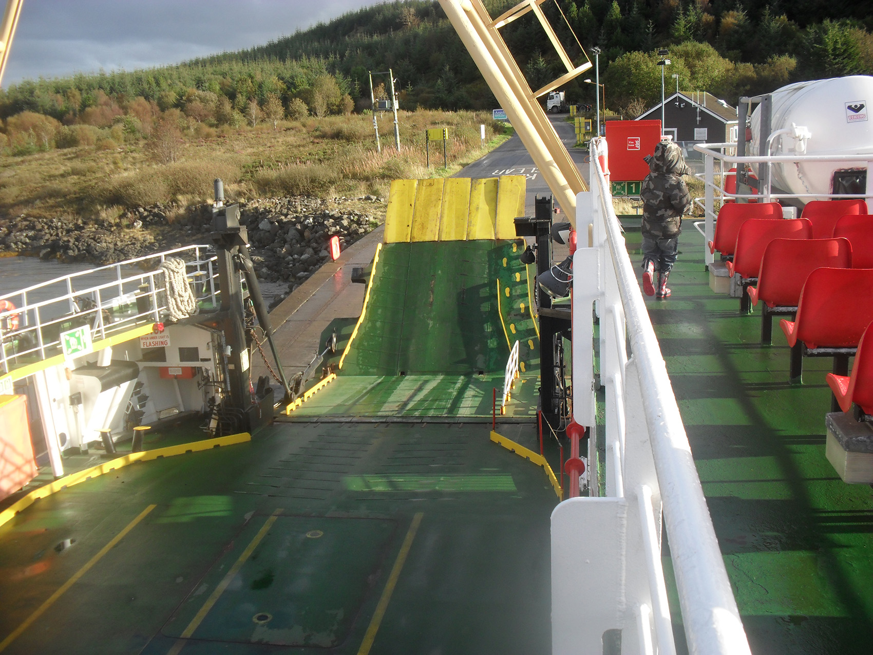 Mull ferry docking