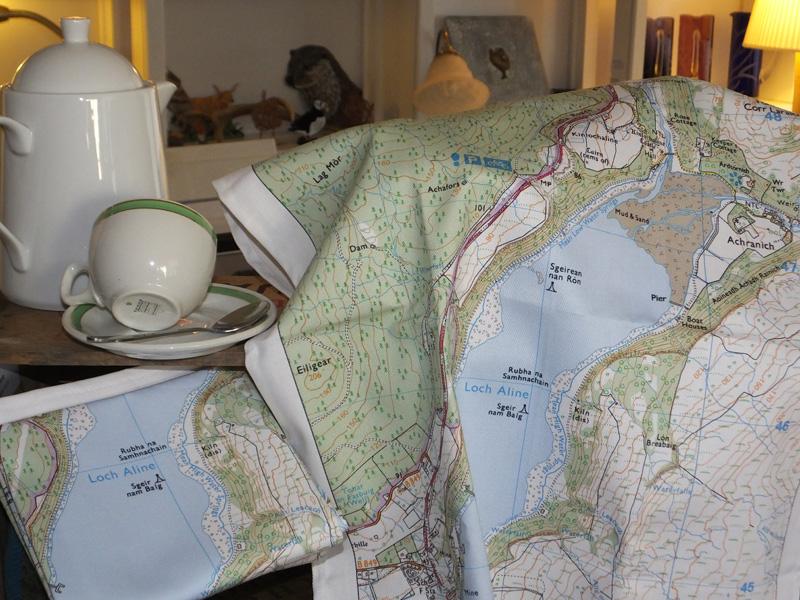 Lochaline & Ardtornish Tea Towel