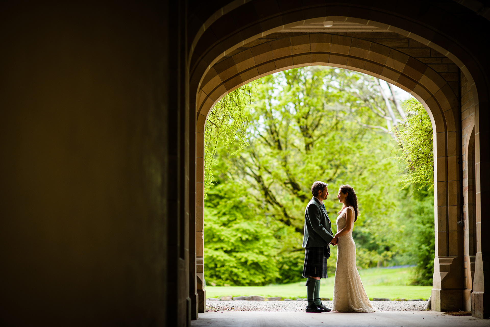 Weddings at Ardtornish Estate - copyright Iain Bain Photography