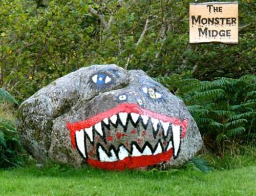The Scottish Midge and how to cope!